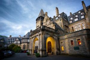 Lebendige Hochzeit Schlosshotel