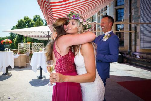 Lebendige Hochzeit Anna Gloux Hochzeit Schlosshotel K & M